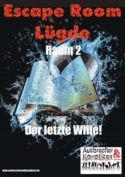 Escape Room at HOME- Spiel 2:: Der letze Wille!