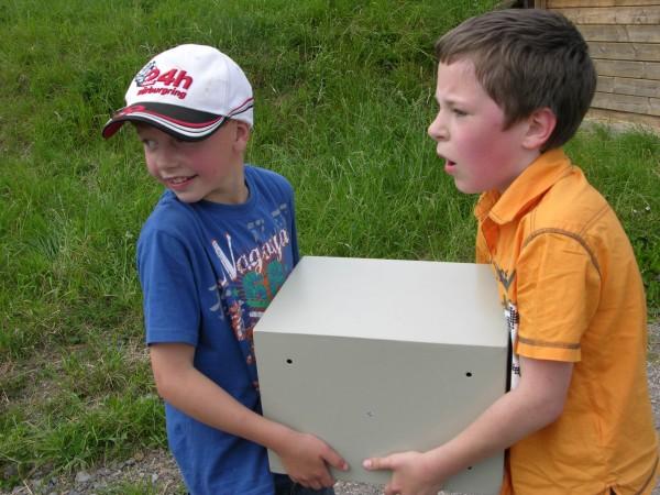 GPS Kindergeburtstag in Paderborn Selbstdurchführung