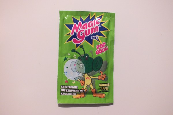 Magic Gum Pop Rocks Saurer Apfel