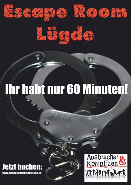 Escape Room Lügde für 6-12 Personen