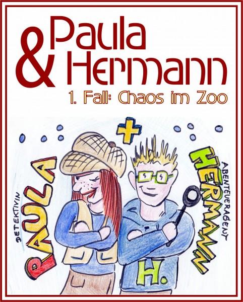 Paula und Hermann 'Chaos im Zoo' - Krimispiel für Kinder