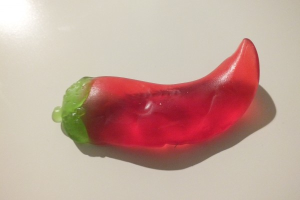 Yummi Yummi Riesen Hot Chili Peppers Fruchtgummi XL